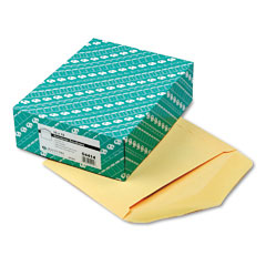 Quality Park 54414 Open Side Booklet Envelope, Traditional, 13 X 10, Cameo Buff, 100/Box