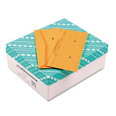 Quality Park 63362 Light Brown Fold Flap Kraft Trade Size Interoffice Envelope, #14, 500/Box