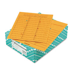 Quality Park 63666 Light Brown Kraft Redi-Tac Box-Style Interoffice Envelope, 10 X 13, 100/Box