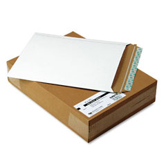Quality park - photo/document mailer, redi-strip, side seam, 11 x 13 1/2, white, 25/box, sold as 1 bx