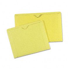 Quality Park 89654 File Jackets, 9 1/2 X 11 3/4, 3 Point Tag, Cameo Buff, 100/Box