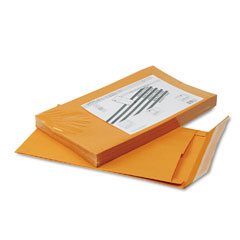 Quality Park 93338 Redi-Strip Kraft Expansion Envelope, Side Seam, 10 X 15 X 2, Brown, 25/Pack