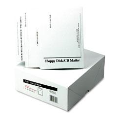 Quality Park E7265 Foam-Lined Multimedia Mailer, Contemporary, 8 1/2 X 6, White, 25/Box