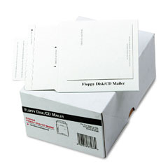 Quality Park E7266 Foam-Lined Multimedia Mailer, Contemporary, 5 X 5, White, 25/Box