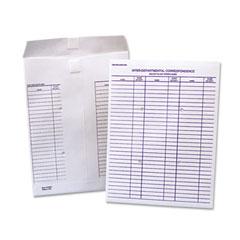 Quality Park QUAR2350 White Recycled Tyvek Velcro Interoffice Envelope, 9 1/2 x 12 1/2, 100/Box