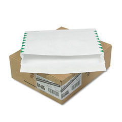 Quality Park QUAR4495 Tyvek Booklet Expansion Mailer, 1st Class, 12 x 16 x 2, White, 18lb, 100/carton