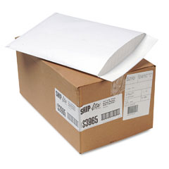 Quality Park QUAS3965 Ship-Lite Bubble Lined Envelope, Side Seam, 10 1/2 x 15 1/2, White, 25/Carton