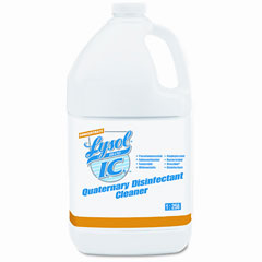 Lysol brand i.c. - quaternary disinfectant cleaner, 4 1 gal bottles/carton, sold as 1 ct