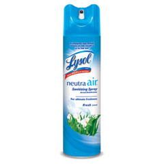 Neutra air from the makers of lysol - fresh scent, aerosol, 10 oz., 12/carton, sold as 1 ct