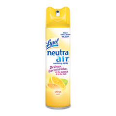 Reckitt Benckiser 76940CT Sanitizing Spray, Citrus, Aerosol, 10 Oz., 12/Carton