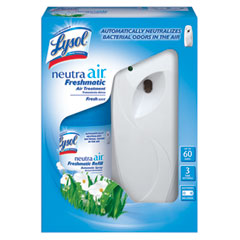 Lysol neutra air freshmatic - starter kit, fresh scent, aerosol, 6.2 oz, sold as 1 kt