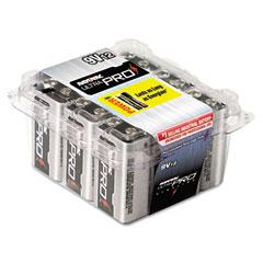 Rayovac AL9V-12 Ultra Pro Alkaline Batteries, 9V, 12/Pack