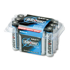 Rayovac ALAAA-18 Industrial Plus Alkaline Batteries, Aaa, 18/Pack
