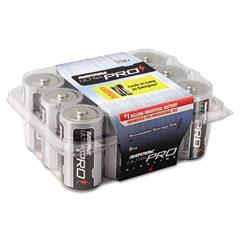 Rayovac ALD-12 Industrial Plus Alkaline Batteries, D, 12/Pack