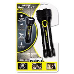 Rayovac - led aluminum flashlight, black, sold as 1 ea