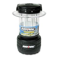 Rayovac RAYSP8D Lantern, Fluorescent Bulb, Black
