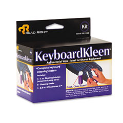 Read Right RR1263 Keyboardkleen Kit, 2.5 Oz. Pump Spray