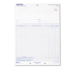 Rediform 1P147 Purchase Order, 8-1/2 X 11, Three-Part Carbonless, 50 Forms