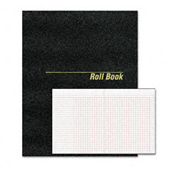 Rediform 43523 Roll Call Book, 9-1/2 X 7-7/8, 48 Pages