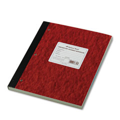 National brand - duplicate lab notebook, quadrille rule, 9-1/4 x 11, we/canary, 200 sheets, sold as 1 ea