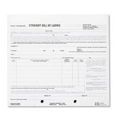 Rediform 44-302 Bill Of Lading Short Form, 8-1/2 X 7, Four-Part Carbonless, 250 Forms
