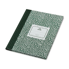 National brand - lab notebook, quadrille rule, 7-7/8 x 10-1/8, white, 96 sheets/pad, sold as 1 ea