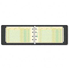National brand - four-ring ledger binder kit, 100 ledger sheets, 8 1/2 x 5 1/2, sold as 1 ea