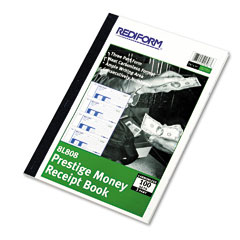 Rediform - money receipt book, 7 x 2-3/4, carbonless triplicate, 100 sets/book, sold as 1 ea