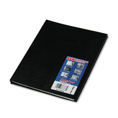 Blueline - note pro business notebook, college rule, letter, white, 150 sheets/pad, sold as 1 ea