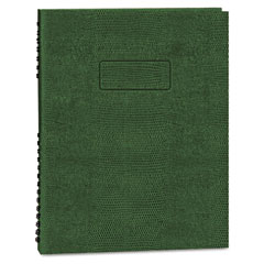 Blueline - exec wirebound notebook, college/margin rule, 8-1/2 x 11, grn, 200 sheets, sold as 1 ea