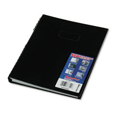 Blueline - note pro business notebook, college rule, letter, white, 300 sheets/pad, sold as 1 ea