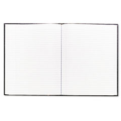Rediform A1081 Large Executive Notebook W/Cover, College/Margin, Ltr, We, 75Sheets