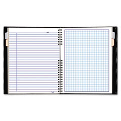 Blueline - notepro quad ruled notebook, 9-1/4 x 7-1/4, white, 192 sheets/pad, sold as 1 ea