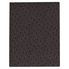 Rediform A8-81 Ostrich Exec Business Notebook, 7 1/4 X 9 1/4, 150 Pages, College Ruled, Black