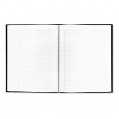 Rediform A9 Business Notebook W/Black Cover, College Rule, 9-1/4 X 7-1/4, 96 Sheets/Pad