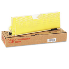 Ricoh 400981 400981 Toner, 5000 Page-Yield, Yellow