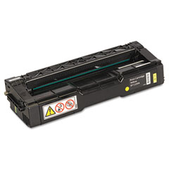Ricoh - 406044 toner, 2000 page-yield, yellow, sold as 1 ea