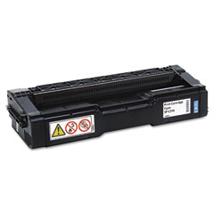 Ricoh - 406476 high-yield toner, 6000 page-yield, cyan, sold as 1 ea