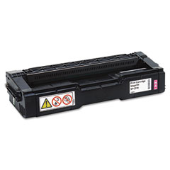 Ricoh - 406477 high-yield toner, 6000 page-yield, magenta, sold as 1 ea