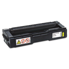 Ricoh - 406478 high-yield toner, 6000 page-yield, yellow, sold as 1 ea