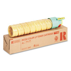 Ricoh - 888277 toner, 5000 page-yield, yellow, sold as 1 ea