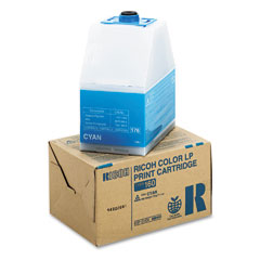 Ricoh - 888445 toner, 10000 page-yield, cyan, sold as 1 ea
