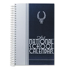Riegle Press NSCREGULAR National School Calendar, 12 Months (July-June), 8-1/2 X 5-1/2, 2011-2012