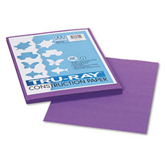 Pacon 103009 Tru-Ray Construction Paper, 76 Lbs., 9 X 12, Violet, 50 Sheets/Pack