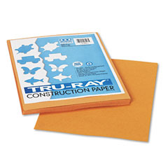 Pacon 103023 Tru-Ray Construction Paper, 76 Lbs., 9 X 12, Tan, 50 Sheets/Pack