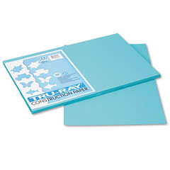 Pacon 103039 Tru-Ray Construction Paper, 76 Lbs., 12 X 18,Turquoise, 50 Sheets/Pack