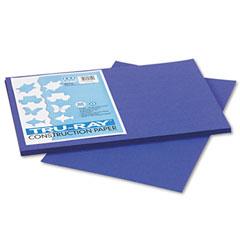 Pacon 103049 Tru-Ray Construction Paper, 76 Lbs., 12 X 18, Royal Blue, 50 Sheets/Pack