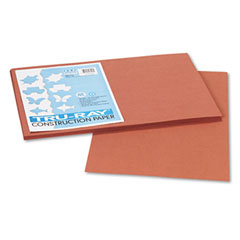 Pacon 103057 Tru-Ray Construction Paper, 76 Lbs., 12 X 18, Warm Brown, 50 Sheets/Pack