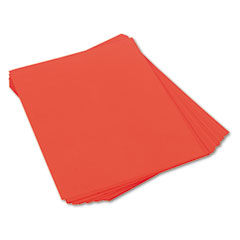 Pacon 103066 Tru-Ray Construction Paper, 76 Lbs., 18 X 24, Orange, 50 Sheets/Pack