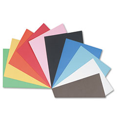 Pacon - tru-ray construction paper, 76 lbs., 18 x 24, assorted, 50 sheets/pack, sold as 1 pk